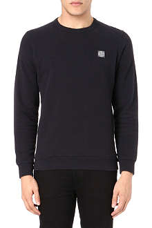 STONE ISLAND Badge logo sweatshirt