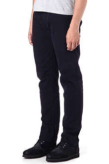 STONE ISLAND Re-t regular-fit tapered cotton trousers