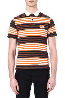 STONE ISLAND Striped polo shirt