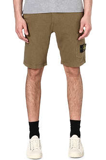 STONE ISLAND Pocket jersey shorts