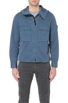 STONE ISLAND Garment-dyed jacket