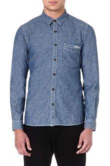 STONE ISLAND Chambray shirt