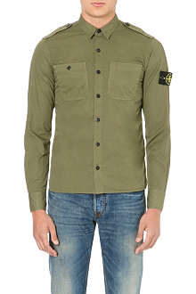 STONE ISLAND Military cotton shirt