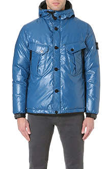 STONE ISLAND High-shine ice jacket