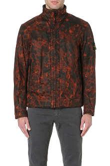 STONE ISLAND Camouflage print jacket
