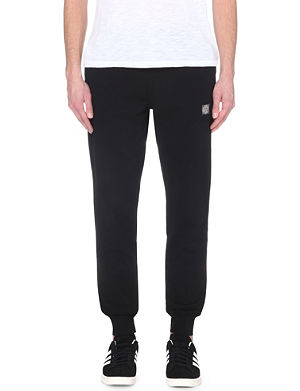 STONE ISLAND Logo cotton jogging bottoms