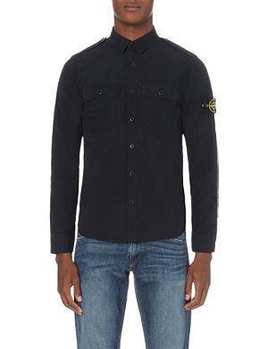 STONE ISLAND Military cotton shirt