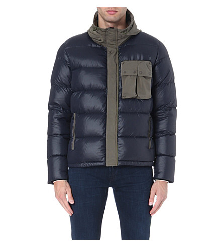 CP COMPANY Quilted jacket (Navy