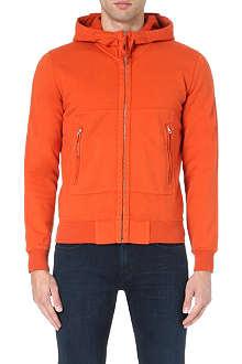 CP COMPANY Goggle cotton-jersey hoody