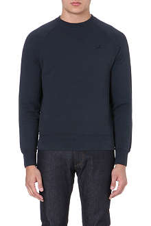 CP COMPANY Crew-neck cotton sweatshirt