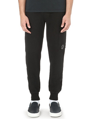 CP COMPANY Logo-detailed jogging bottoms