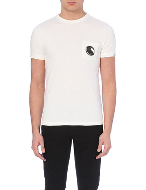 CP COMPANY Branded cotton-jersey t-shirt