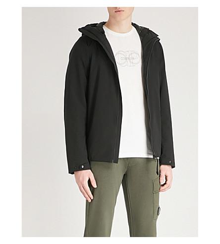 CP COMPANY Wadded hooded pro-tek shell jacket (Black