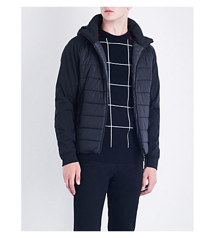 CP COMPANY Goggle-hood shell jacket (Black