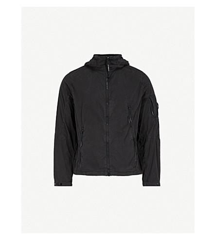 CP COMPANY Hooded shell jacket (Black