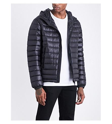 CP COMPANY Goggle hooded shell jacket (Black