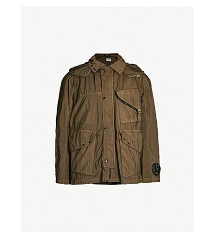 CP COMPANY Goggle shell jacket (Khaki