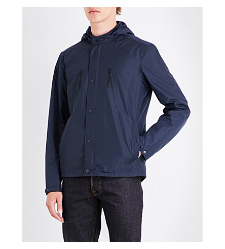 CP COMPANY Goggle-hood shell jacket (Midnight
