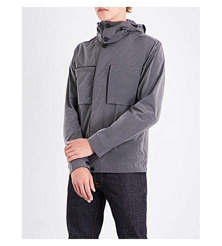 CP COMPANY Goggle-hood shell jacket (Slate