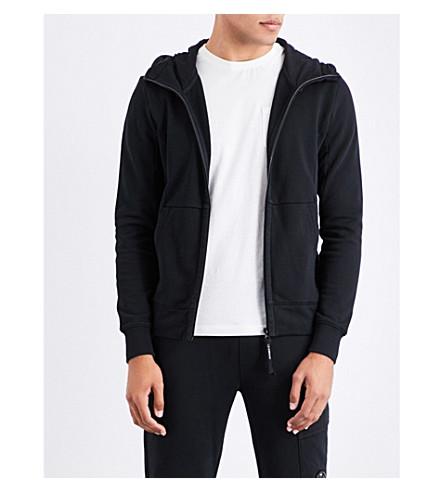 CP COMPANY Goggle cotton hoody (Black