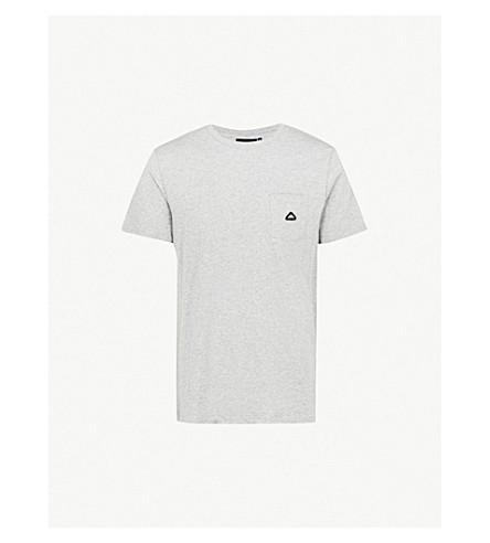 PENFIELD Southborough cotton-jersey T-shirt (Grey