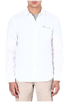YMC Linen white shirt