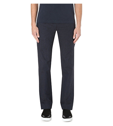 YMC Military cotton trousers (Navy