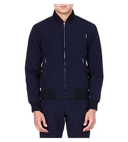 YMC Zip-pocket bomber jacket (Navy