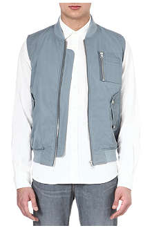 YMC Sleeveless MA1 jacket