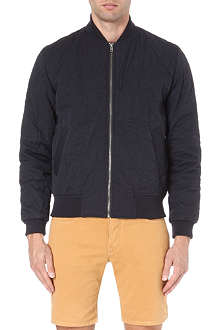 YMC Quilted bomber jacket
