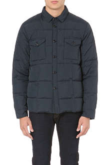 YMC Quilted down-filled jacket