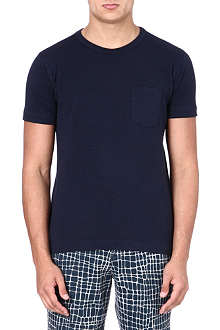 YMC Classic navy pocket T-shirt