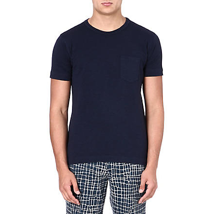 YMC Classic navy pocket T-shirt (Navy