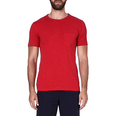 YMC Classic pocket t-shirt (Red