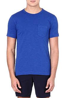 YMC Classic cotton blue T-shirt