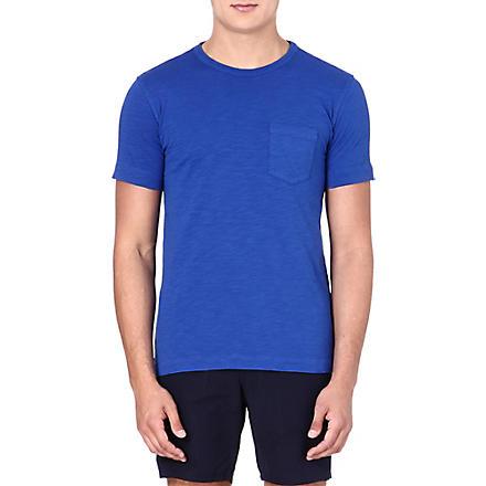 YMC Classic cotton blue T-shirt (Blue