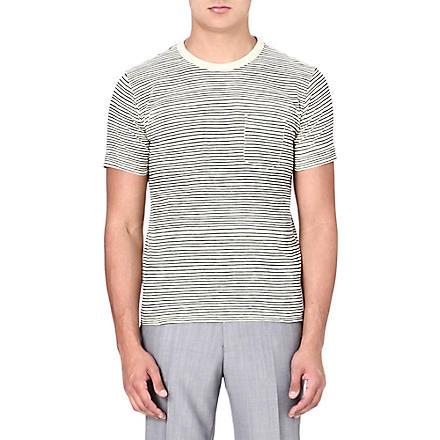 YMC Classic cotton pocket T-shirt (Ecru