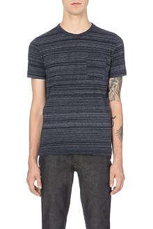YMC Space-dye cotton-jersey t-shirt