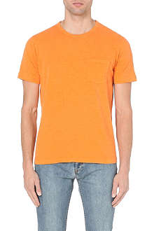 YMC Patch-pocket cotton-jersey t-shirt