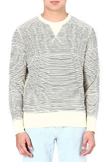 YMC Cotton stripe sweater