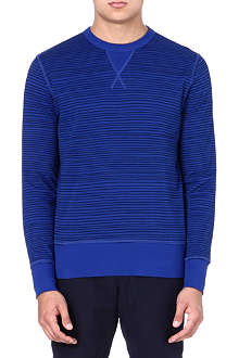YMC Cotton blue sweater