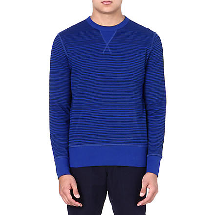 YMC Cotton blue sweater (Royal