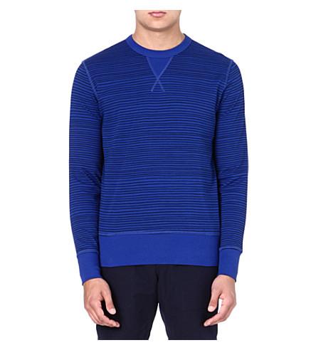 YMC Cotton blue sweater (Royal