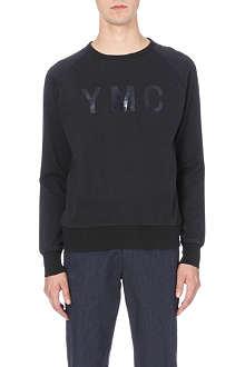 YMC Print basic sweatshirt