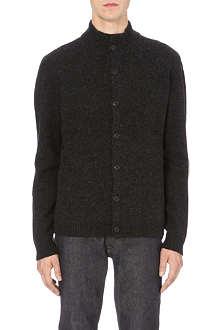 YMC Hand pocket wool cardigan