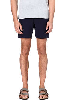 YMC Navy cotton shorts