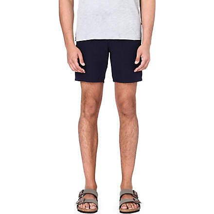 YMC Navy cotton shorts (Navy