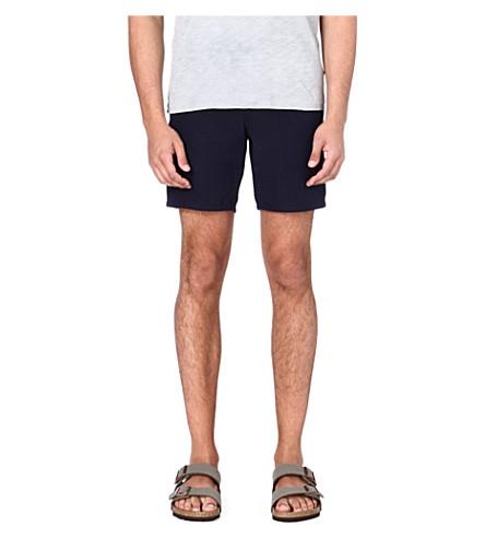 YMC Navy cotton shorts (Navy