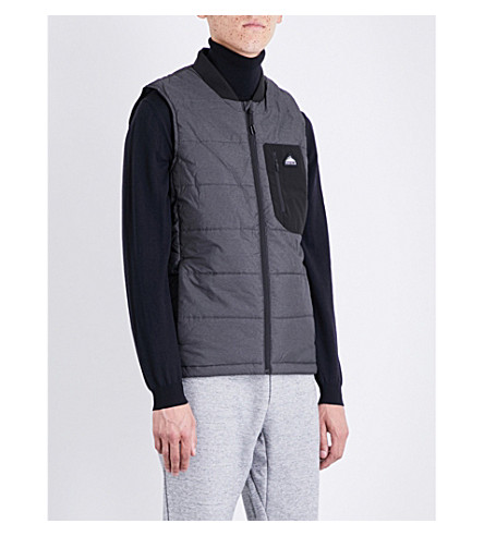 PENFIELD Foley shell gilet (Black
