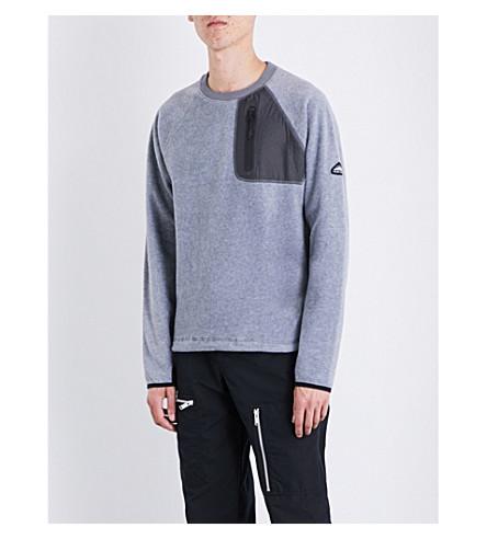 PENFIELD Carney fleece jumper (Grey